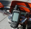 Garmin GPSMap60CS mounted on my KTM 525EXC.
