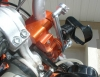 Garmin GPSMap60CS bracket mounted on my KTM 525EXC.